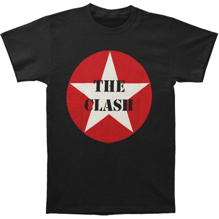 Clash Mens  Star Logo T Shirt Black