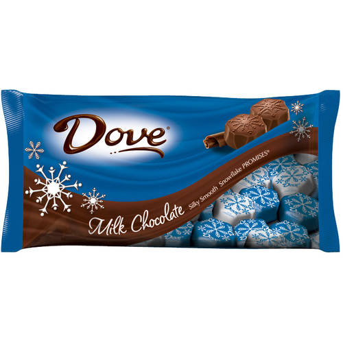 Dove Holiday Snowflake Promises Milk Chocolate Candy, 8.87 oz