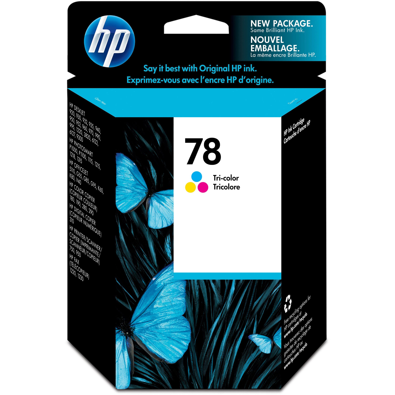 HP, HEWC6578DN, 78 Tri-color Ink Cartridge, 1 Each