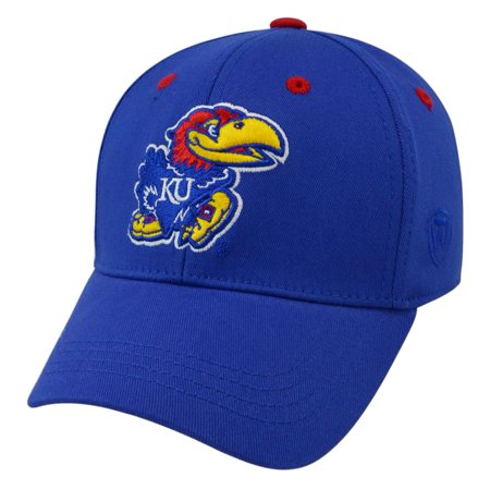huge selection of 05634 6d256 Youth Kansas Jayhawks KU Hat Top of The World Rookie One Fit - Walmart.com