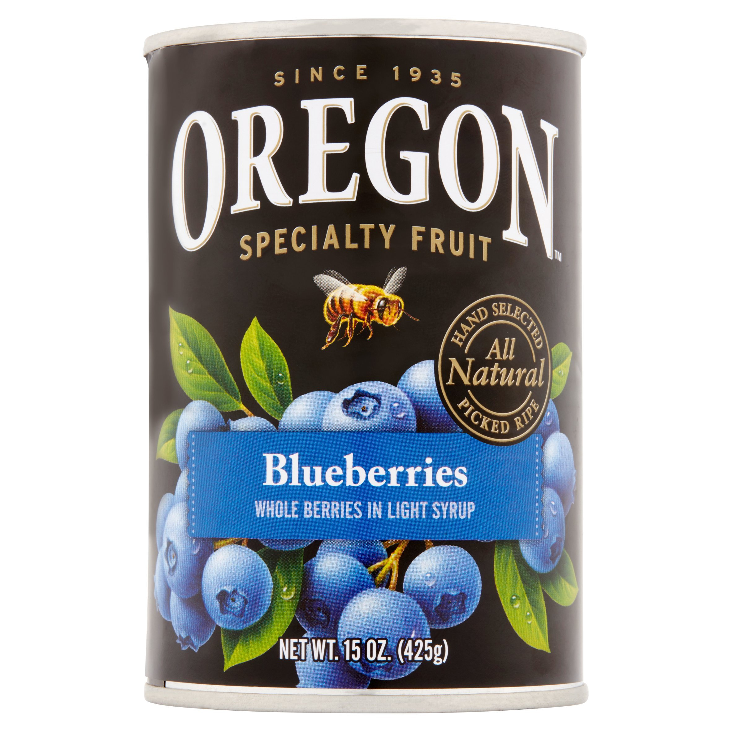 Oregon Specialty Fruit Blueberries, 15.0 OZ by Oregon Fruit Products LLC