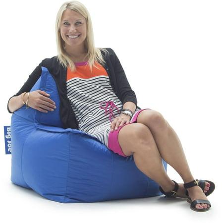 Big Joe Zip It Square Bean Bag Chair Multiple Colors