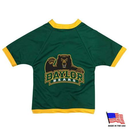 Bear Mesh - Baylor Bears Athletic Mesh Pet Jersey - Tiny