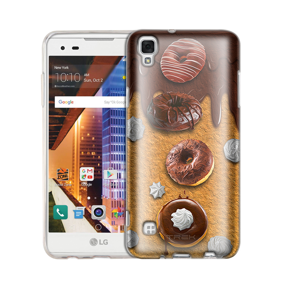 LG Tribute HD Chocolate Frosted Donuts Slim Case
