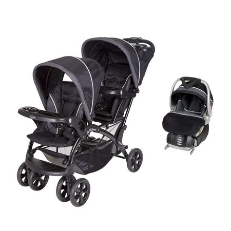 Baby Trend Double Sit N Stand Stroller FlexLoc Infant Car Seat Base