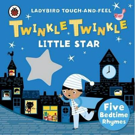 Twinkle, Twinkle, Little Star: Ladybird Touch and Feel Rhymes (Ladybird Touch & Feel Rhymes) (Board - Halloween Party Touch And Feel