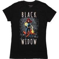Avengers Black Widow Fanfare Juniors T-Shirt
