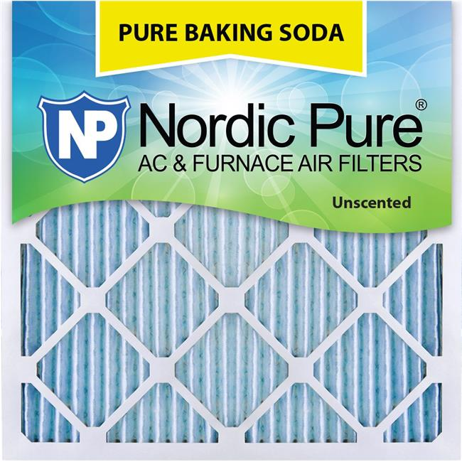 Nordic Pure 25x25x1 Pure Green Eco-Friendly AC Furnace Air Filters 6 Pack
