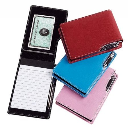 Leather Leather Jotter Note Pad (Set of 3) Color: