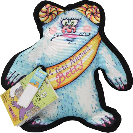 Fuzzu Llc-A Yeti Named Betty Dog Toy Wild Woodies- Blue Large](Nautical Names For Dogs)