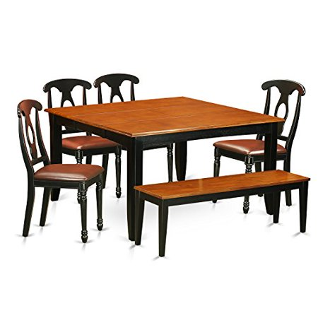 dining room table set with bench dining table and 4 solid wood dining
