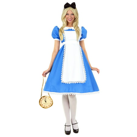 Adult Supreme Alice Costume - Adult Alice Costume