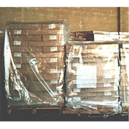 3 Mil Pallet Covers - Box Partners PC174 52 in. x 48 in. x 73 in.- 3 Mil Clear Pallet Covers