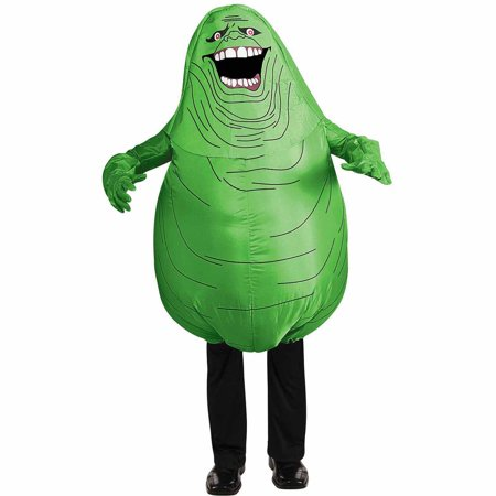 Ghostbusters Inflatable Slimer Child Halloween Costume - Ghostbusters Slimer Mask