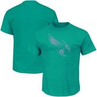 Charlotte Hornets Majestic Reflective Tek Patch T-Shirt - Teal