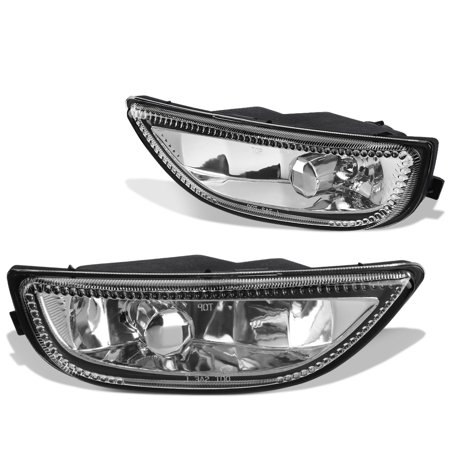 For 2001 to 2002 toyota Corolla Front Bumper Driving Fog Light / Lamp Clear Lens