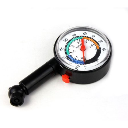 Outtop Auto Motor Car Bike Tire Air Pressure Gauge Dial Meter Vehicle