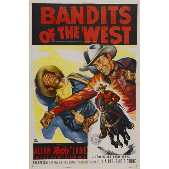 Posterazzi MOVEJ2182 Bandits of the West Movie Poster - 27 x 40 in. - image 1 de 1