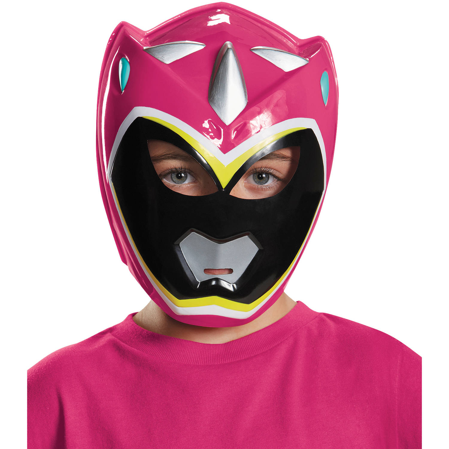 Pink Ranger Dino Charge Vacuform Child Mask