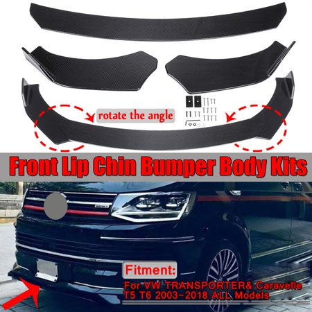 Carbon Fiber Car Front Lip Chin Bumper Body Kits For Mercedes Benz W220 W210 W203 W168 W163