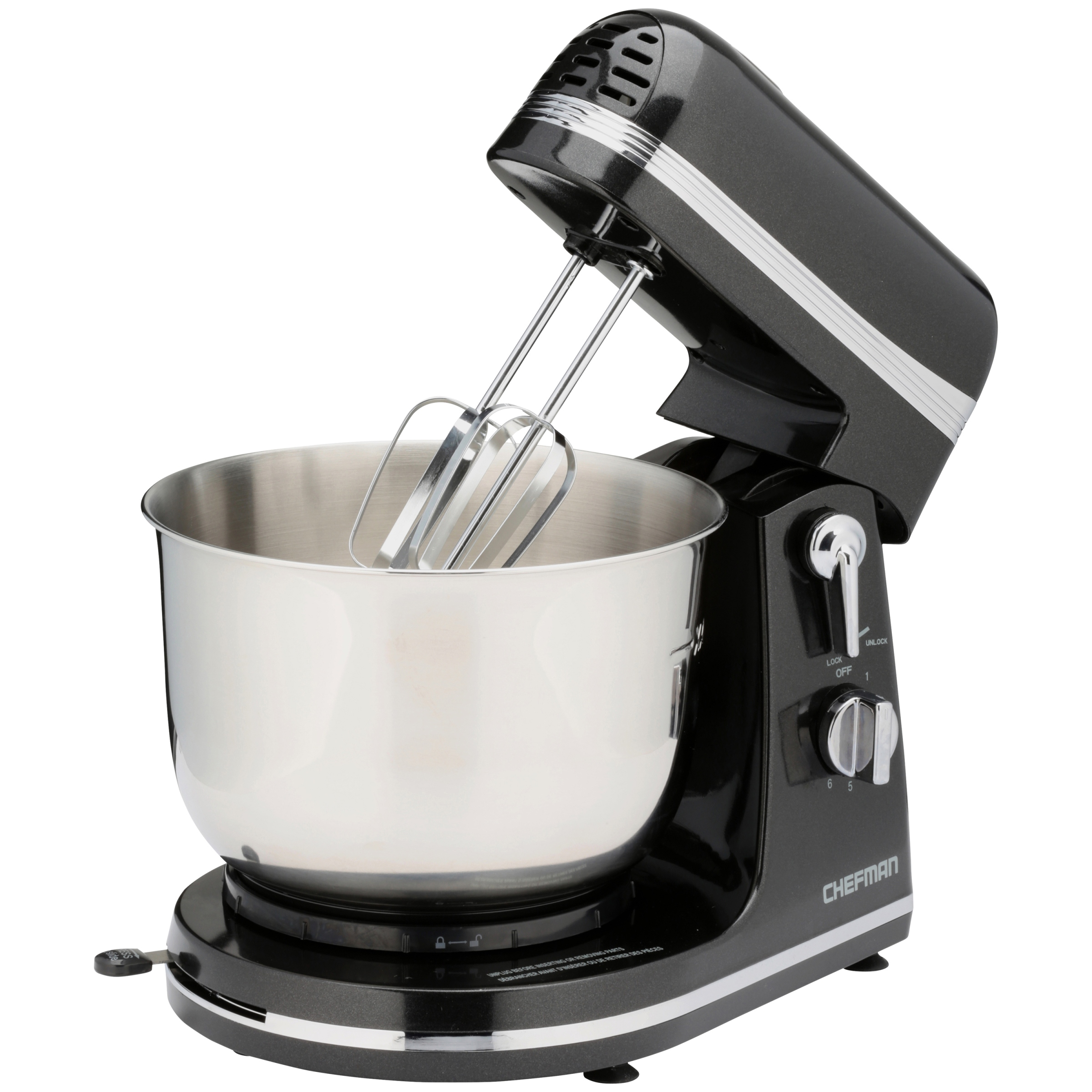 Chefman Ultra-Power Stand Mixer with Stainless Steel Bowl by Chefman