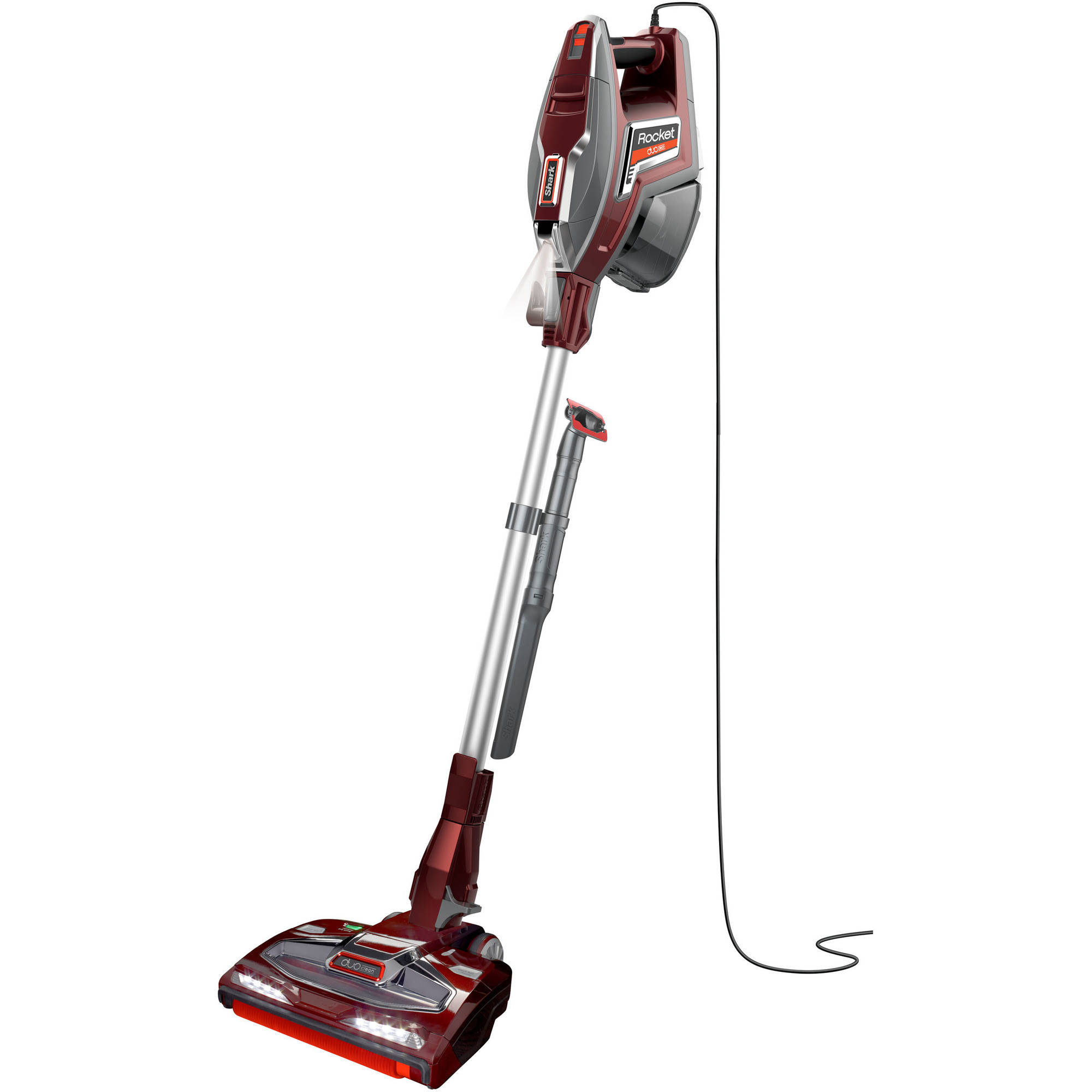 Shark Rocket Complete Corded Vacuum with DuoClean, Red, HV380