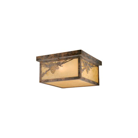 Outdoor Wall Sconces 2 Light Fixtures With Olde World Patina Finish Steel Material Medium 12