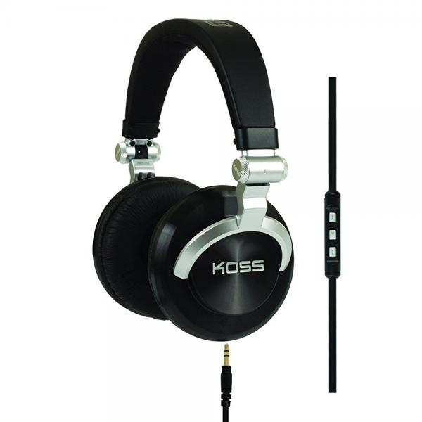 Koss ProDj200 Studio Headphone Black Silver by Koss