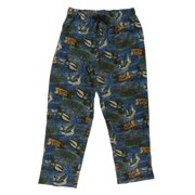 Northcrest Mens Blue Flannel Duck Sleep Pants Pajama Bottoms