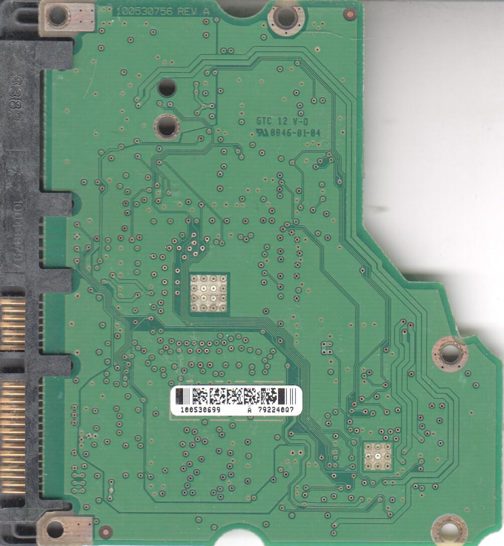 ST31500341AS, 9JU138-568, CC3H, 100530699 A, Seagate SATA 3.5 PCB