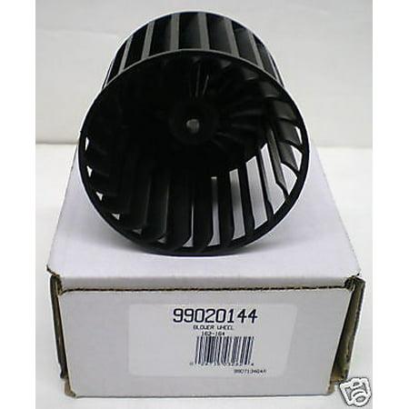 Broan Manufacturing 3574685 Exhaust Fan Blower Wheel, Black Kits Accessory Exhaust Fan Fans