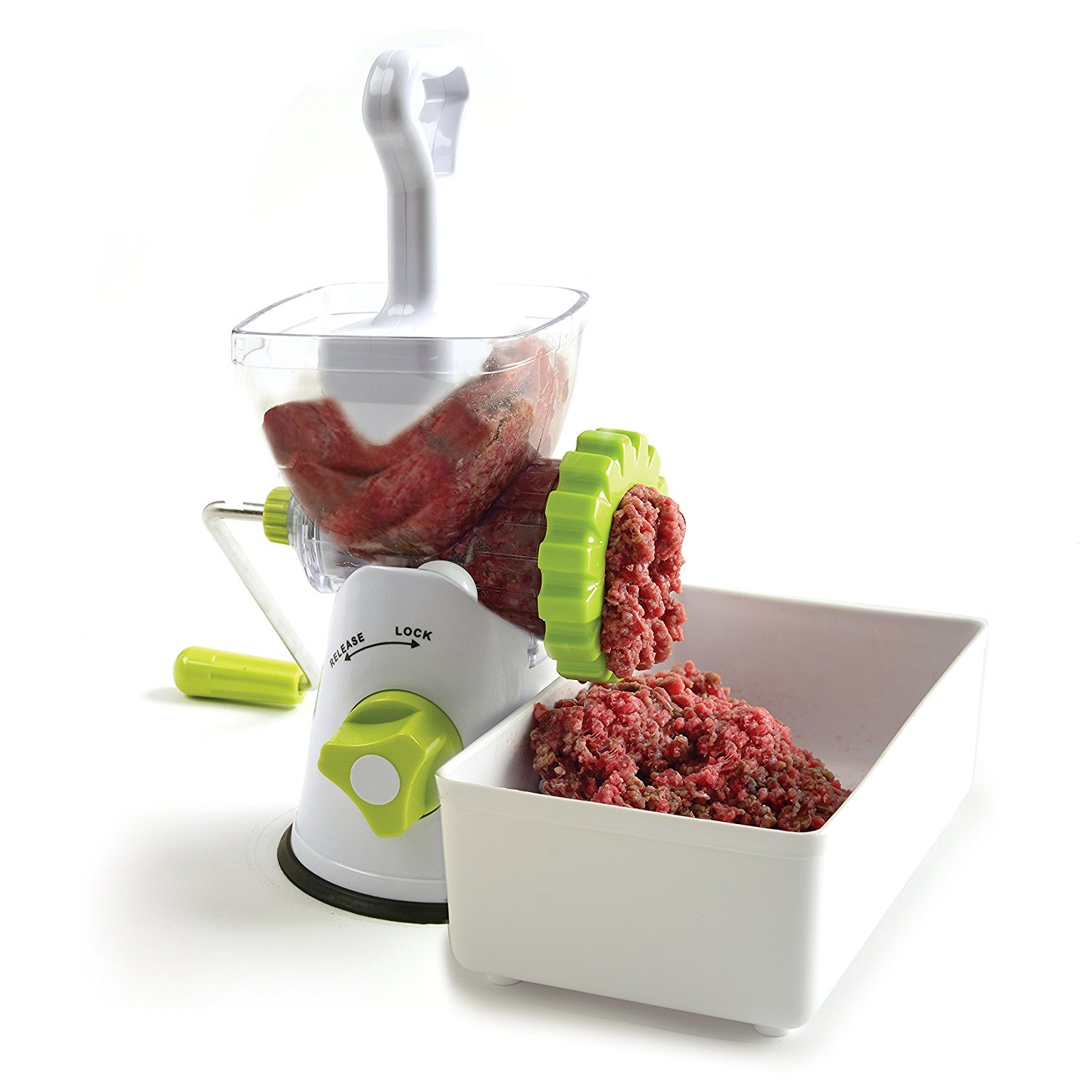 Meat Grinder, Mincer, and Pasta Maker