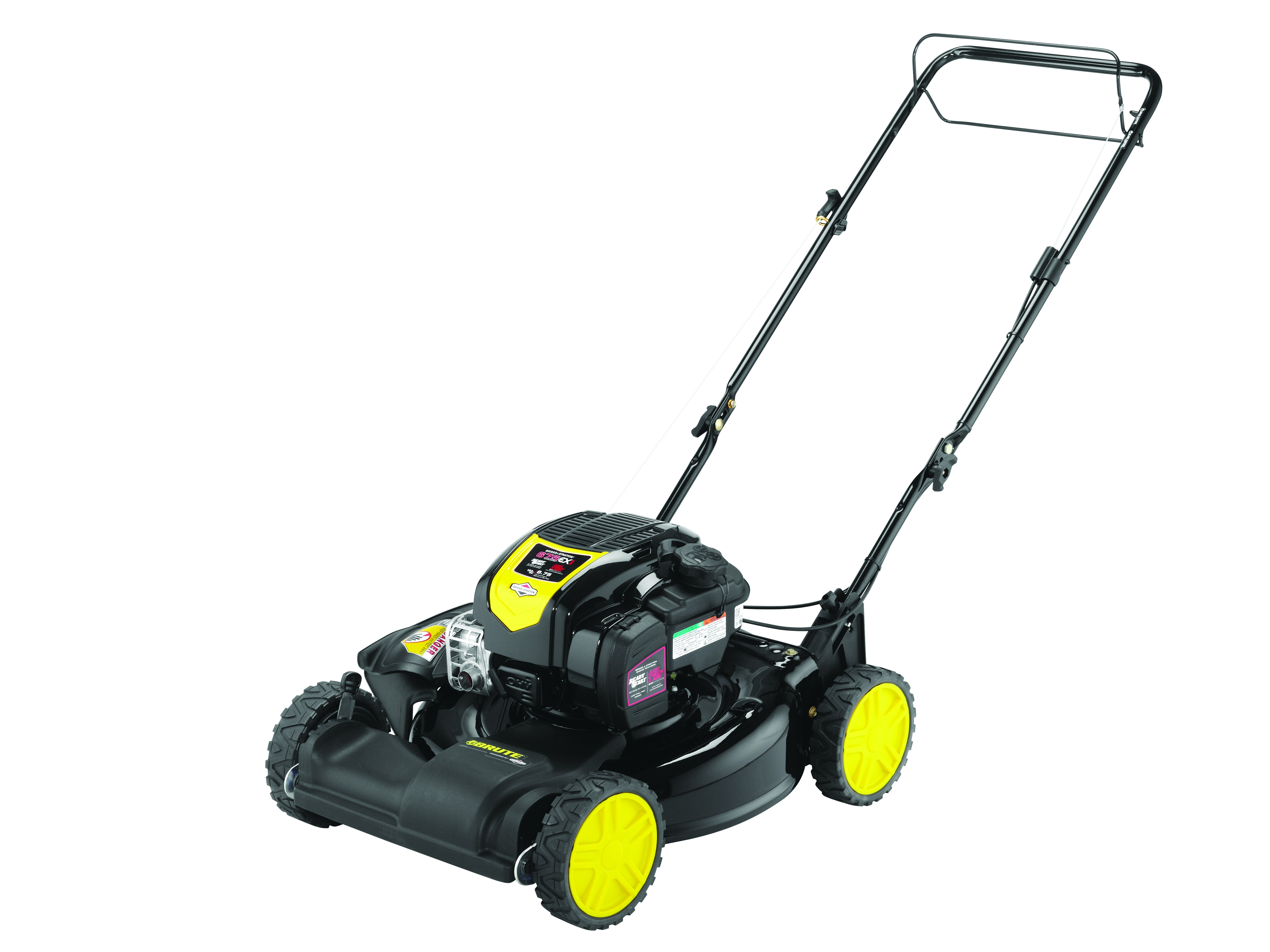 "21"" Brute Gas Self-Propelled Lawn Mower with Briggs & Stratton 163cc Engine and Side Discharge, Mulching by MTD Products"