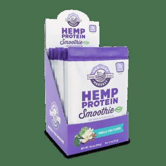 SS Hemp Protein Smoothie - Vanilla Chai 12 1.1oz packs