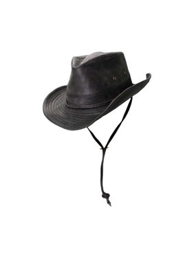 5a12950f40065 Product Image Dorfman-Pacific Weathered Outback Hat With Chin Cord