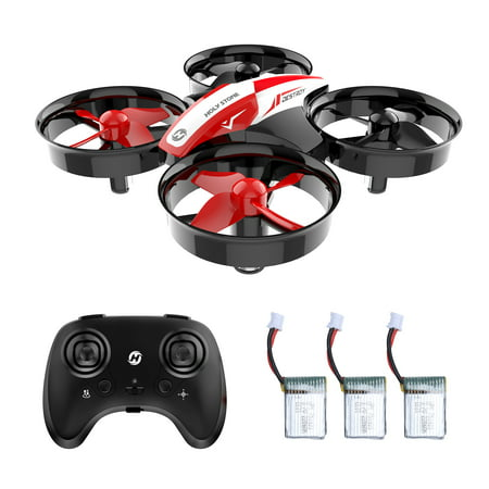 Holy Stone HS210 Mini Drone RC Nano Quadcopter Best Drone for Kids and Beginners RC Helicopter Plane with Auto Hovering, 3D Flip, Headless Mode and Extra Batteries Toy for Teen Boys and (R/c Mini Electric Helicopter)