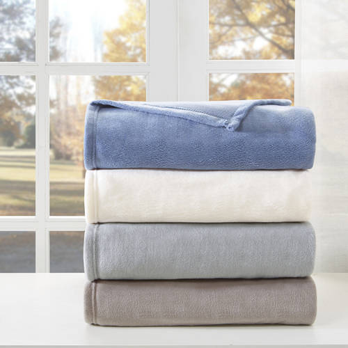 Comfort Classics Liquid Velvet Fleece Blanket