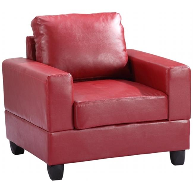 Nova Furniture Group NF309A-C Living Room Chair, Red