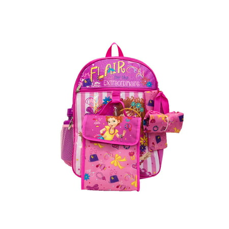 "Fancy Nancy ""Flair for the Extraordinaire"" 5 pc Backpack Set"