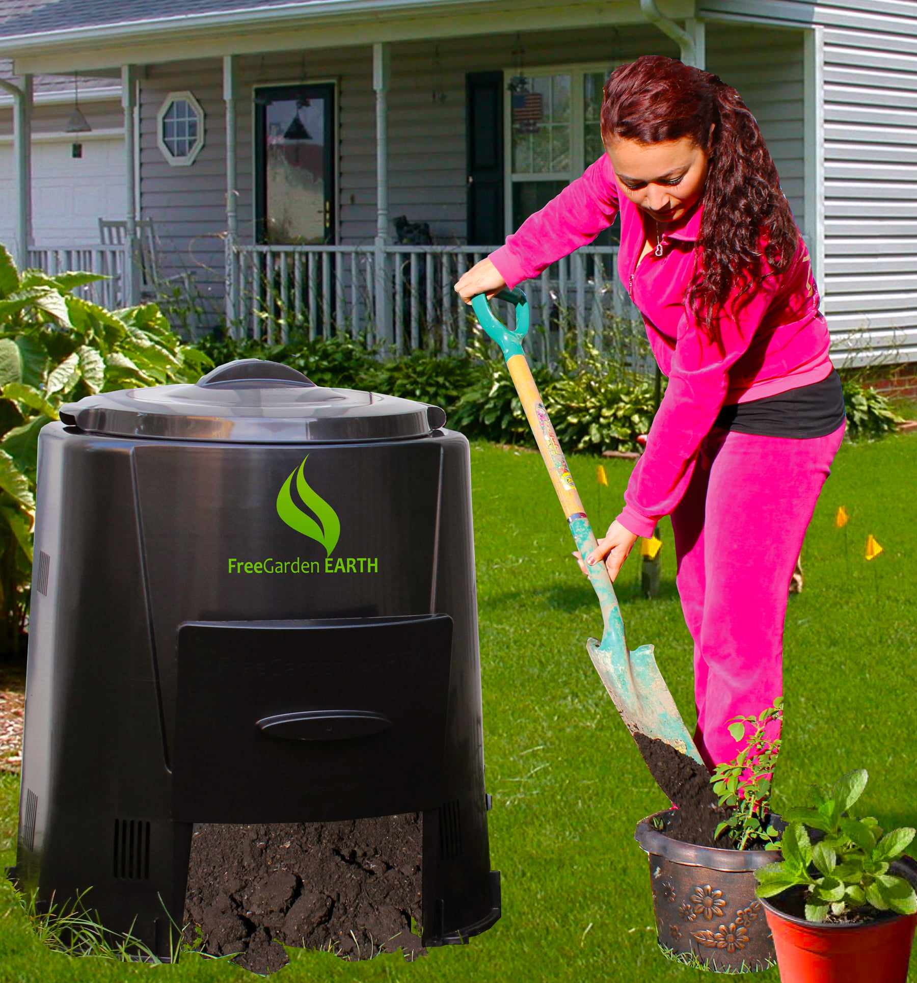 82 gal. Enviro World Compost Bin by Enviro World Corp.