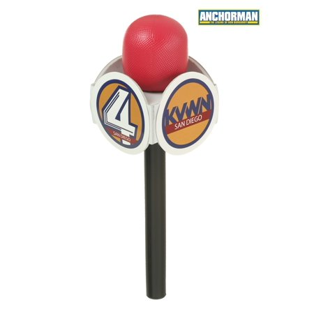 Anchorman Microphone Prop](Retro Microphone Prop)