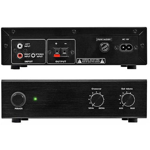 OSD Subwoofer Amplifier w/ 100 Watts, Black