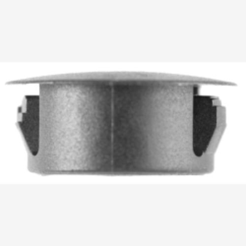 """Flush Type Blk Nyl Locking Hole Plugs, Hole Size: 3/4"""", Head Size: 59/64"""", Quantity: 10"""