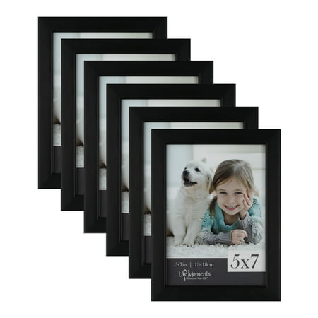 5x7 Black Wood Desk Photo Frames, Case of - 5x7 Black Wood Frame