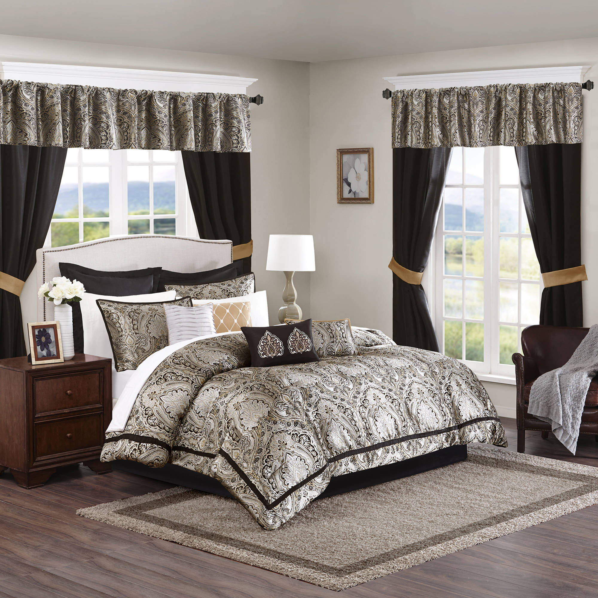 Home Essence Tracy Room in a Bag Comforter Bedding Set