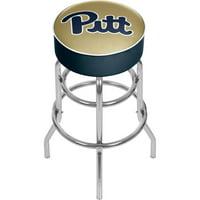 "Trademark Global University of Pittsburgh 31"" Padded Bar Stool"