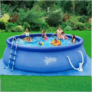 18 39 x 48 inflatable quick set pool set - Inflatable quick set swimming pool ...