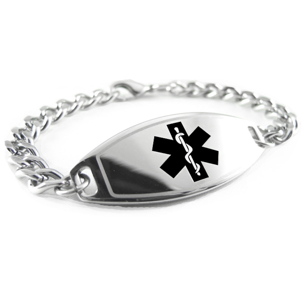 Myiddr Pre Engraved Schizophrenia Medical Alert Bracelet
