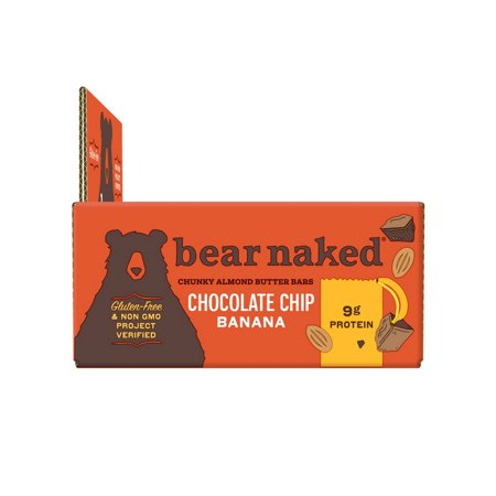 (Price/Case)Bear Naked 88462310311 Bear Naked Health And Wellness Bars Chocolate Chip 15.5oz -