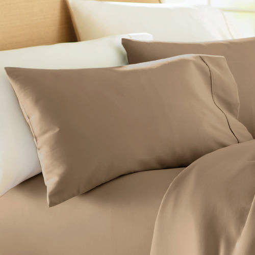 Better Homes and Gardens 350 Thread Count Hygro Cotton Percale Sheet Collection Pillowcase